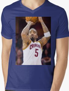 jr. smith Mens V-Neck T-Shirt
