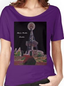 Space Needle, Seattle,Washington, USA Women's Relaxed Fit T-Shirt
