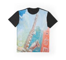 Jazz. Summer. Gdansk Graphic T-Shirt