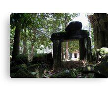 Hidden Jungles of Angkor Canvas Print