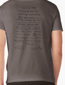 Mad Max: Fury Road - Back TATTOO (Upside Down) Mens V-Neck T-Shirt