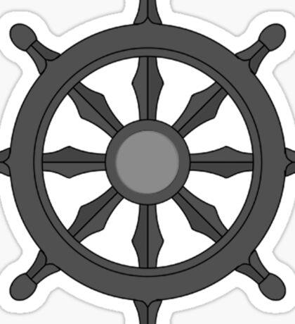 Dharma Wheel Sticker