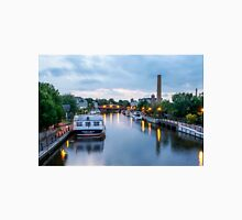 Reflections in Smooth Water on the Erie Canal Unisex T-Shirt