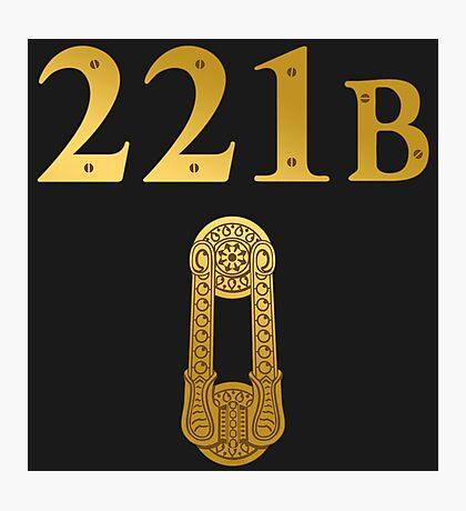 "Sherlock Holmes ""221B"" Photographic Print"
