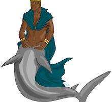 Hannibal AU - Jack as merman king by Furiarossa