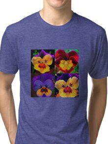 Viola Garden Tri-blend T-Shirt