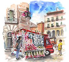 Onion and Garlic Street Seller in Siracusa by Goodaboom