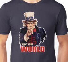 Satanic Uncle Sam World Domination T-Shirt Unisex T-Shirt
