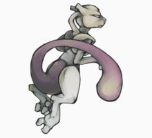 Mewtwo by hyenor