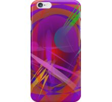 Abstract Cat's Face iPhone Case/Skin