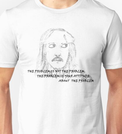 Jack Sparrow with Quote Unisex T-Shirt