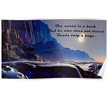 World Quote Poster