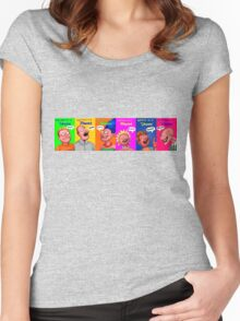 Sibosomo! Women's Fitted Scoop T-Shirt