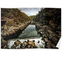 Cataract gorge, Launceston Poster