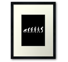 Evolution of Pop (White Version) Framed Print