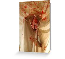 Death & Blood Greeting Card