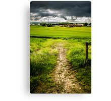 Weak Barrier Canvas Print