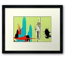 Queen Zelda Framed Print