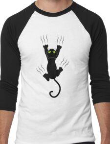 T-shirt Cat Men's Baseball ¾ T-Shirt