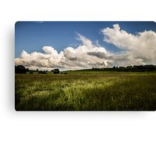 March of the Clouds Canvas Print