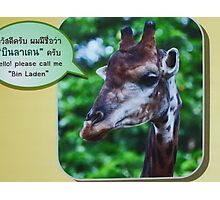 Amusing! Photographic Print