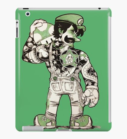 Yakuza Luigi iPad Case/Skin