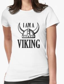 I Am A Viking Womens Fitted T-Shirt