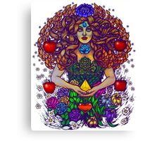 Life as Divine Mother Gea Canvas Print