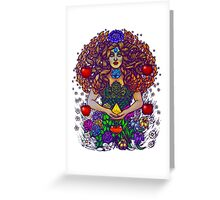 Life as Divine Mother Gea Greeting Card
