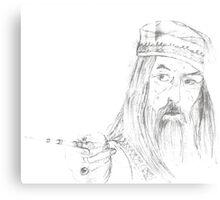 Albus Brian Wulfric Percival Dumbledore Canvas Print