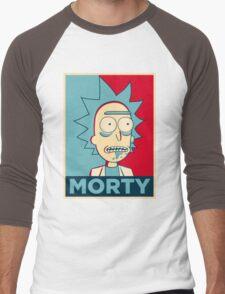 RICK SANCHEZ MORTY Men's Baseball ¾ T-Shirt
