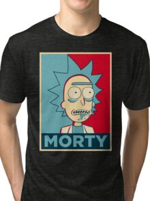 RICK SANCHEZ MORTY Tri-blend T-Shirt