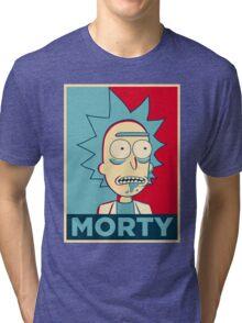 RICK SANCHEZ MORTY Tri-blend T-Shirt