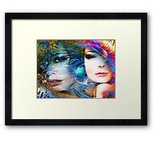 Duplicity Framed Print