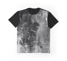 BLACK AND WHITE SPLASH! Graphic T-Shirt