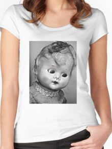 kewpie doll Women's Fitted Scoop T-Shirt