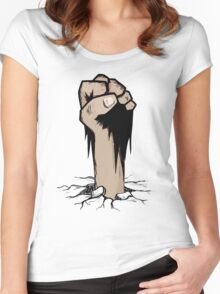 T-shirt Zombie Women's Fitted Scoop T-Shirt