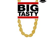 """Big Tasty"" Tee - Girl, you know it's true! by vertigocreative"