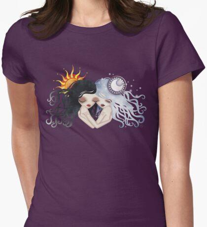 Emma & Gemma (Gemini) ~ Zodiac Series  Womens Fitted T-Shirt