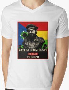 El Presidente Tropico Mens V-Neck T-Shirt
