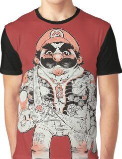 Yakuza Mario Graphic T-Shirt