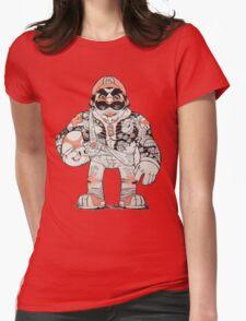 Yakuza Mario Womens Fitted T-Shirt