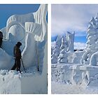 Snow Carving by Yukondick