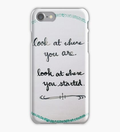 That Would Be Enough iPhone Case/Skin