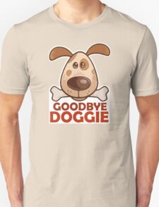 Goodbye Doggie (Orange) Unisex T-Shirt