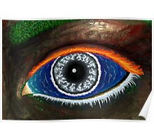The Eye of Mother Nature Poster