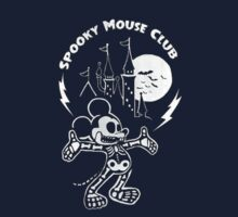 Spooky Mouse Club One Piece - Short Sleeve