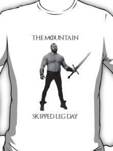 The Mountain Skipped leg day T-Shirt