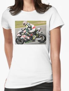 Shane byrne out front Womens Fitted T-Shirt