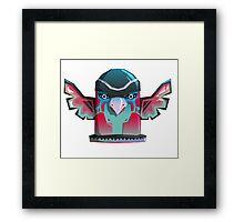 """Totemania """"Bird"""" Framed Print"""